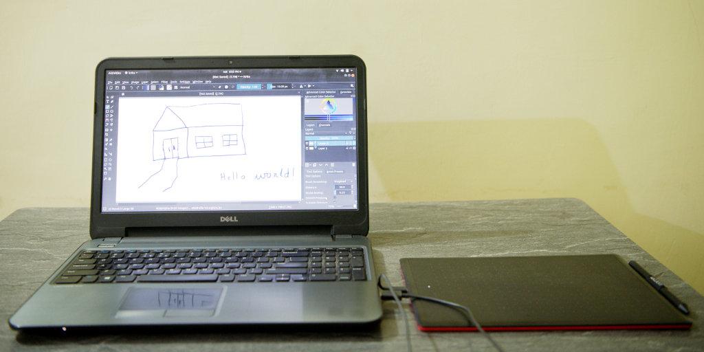 Connecting Wacom One CTL-672/KO-CX tablet to Ubuntu Linux   SoftPrayog